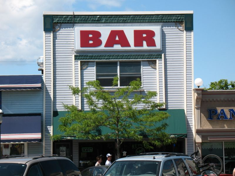 Bar in Mackinaw City