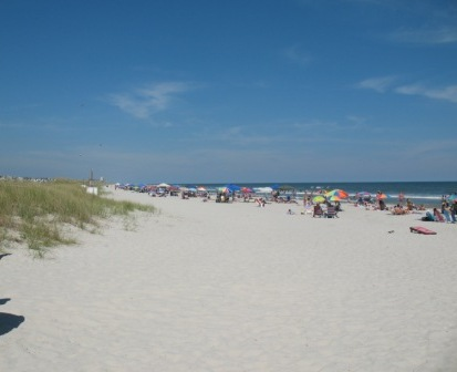 Typical scene at a NC Beach- Sunset Beach