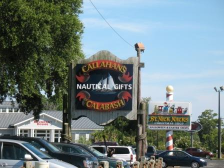 Calabash NC is known for the Seafood Restaurants