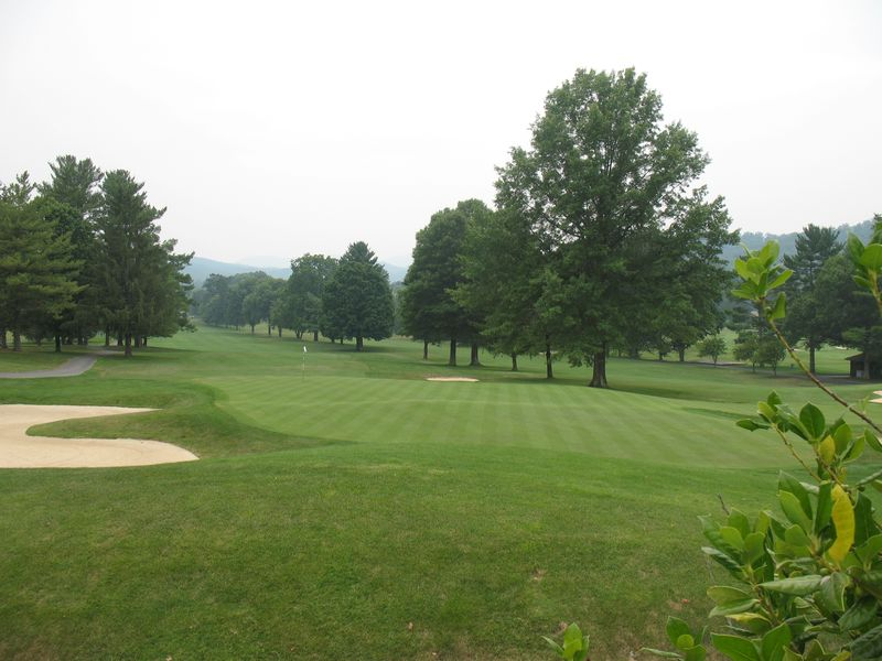 Greenbriar golf course in White Sulfur Springs WV