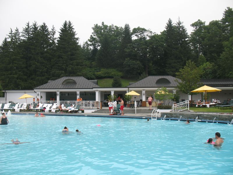Greenbriar pool & poolhouse in White Sulfur Springs WV