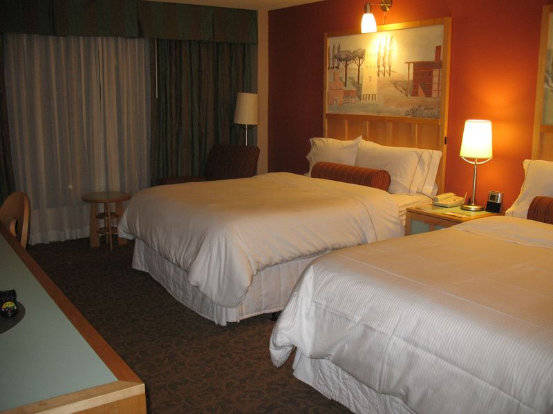 Disney's Swan resort standard room