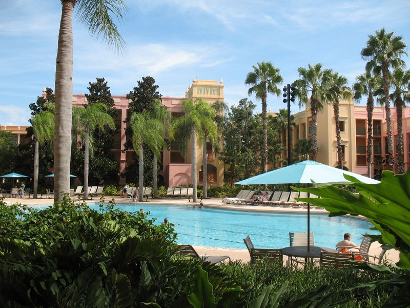 Disney's Coronado Springs Resort small pool in Casitas 1-4