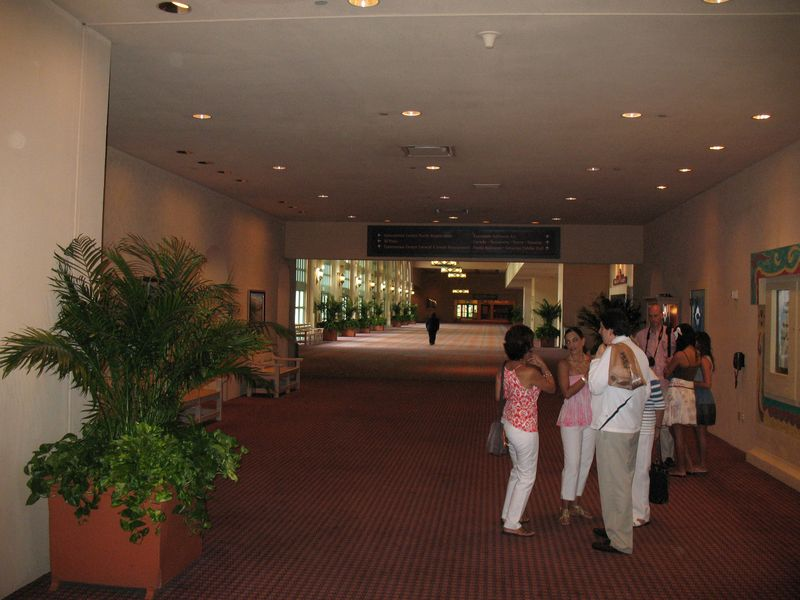 Disney's Coronado Springs Resort convention center area