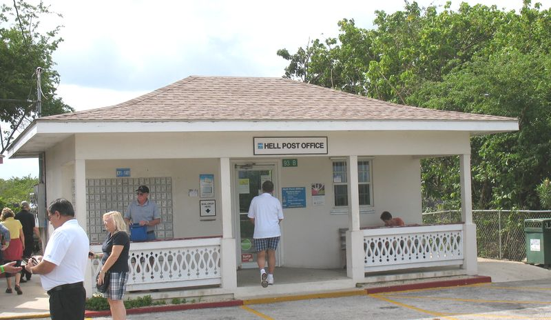 Post office from Hell at Grand Cayman
