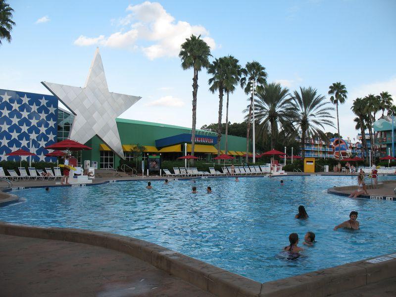 Disney's All Star Sports resort pool