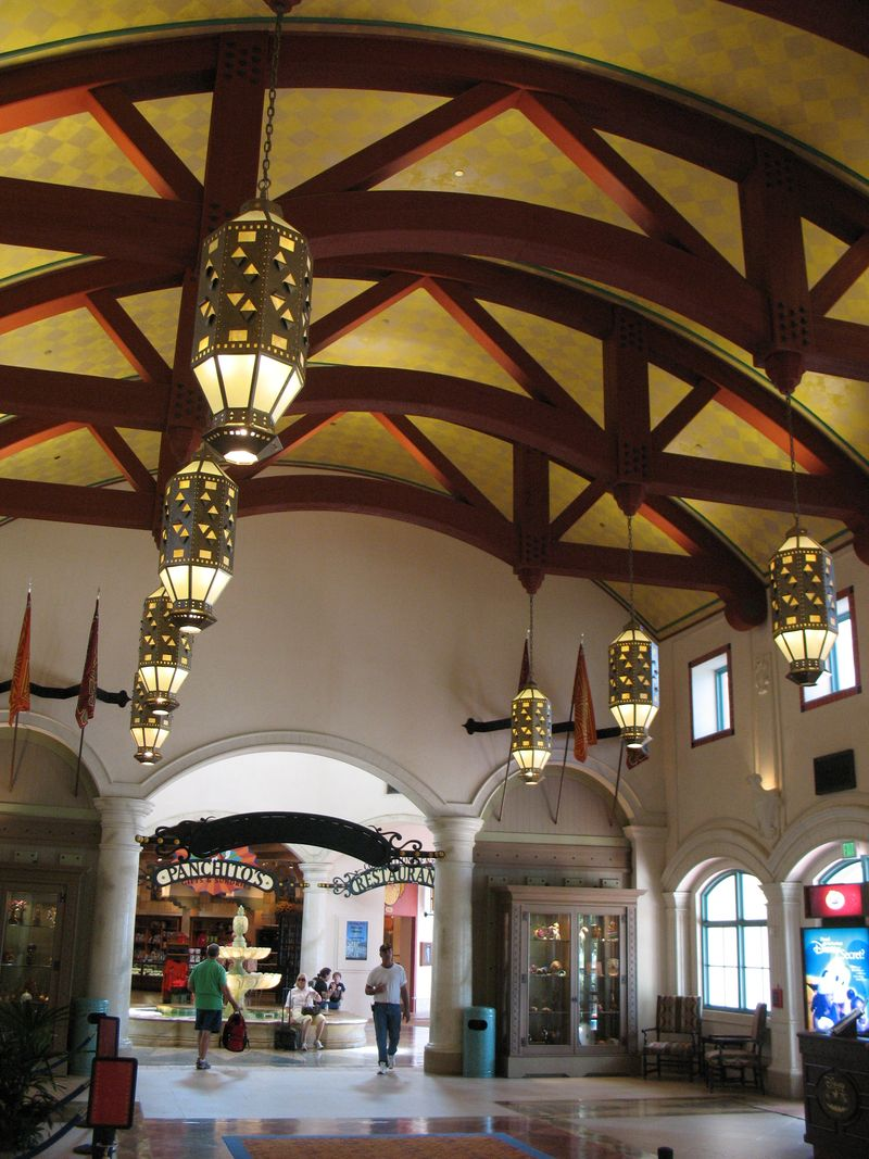 Disney's Coronado Springs Resort lobby