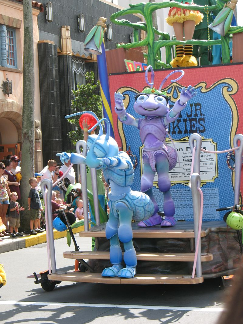Disney Studos Orlando character parade