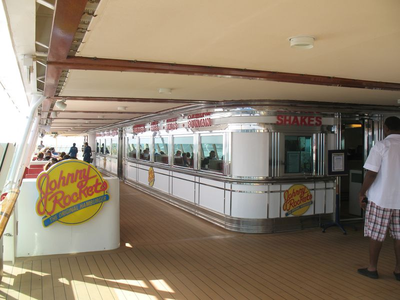 Johnny Rockets on Navigator of the Seas