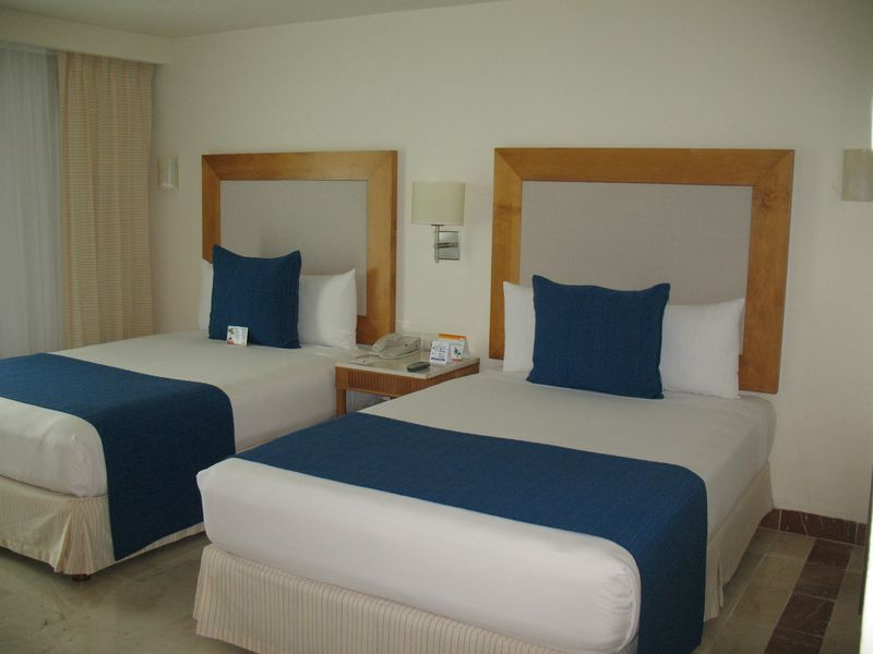 Standard room with 2 doubles at Park Roayl Cozumel