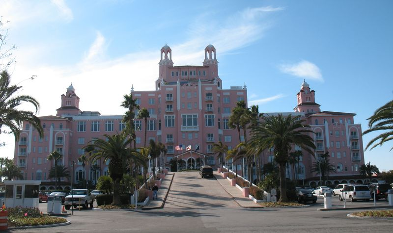 St Pete Hotels Jan 27 2011 Don Cesar Resort - front
