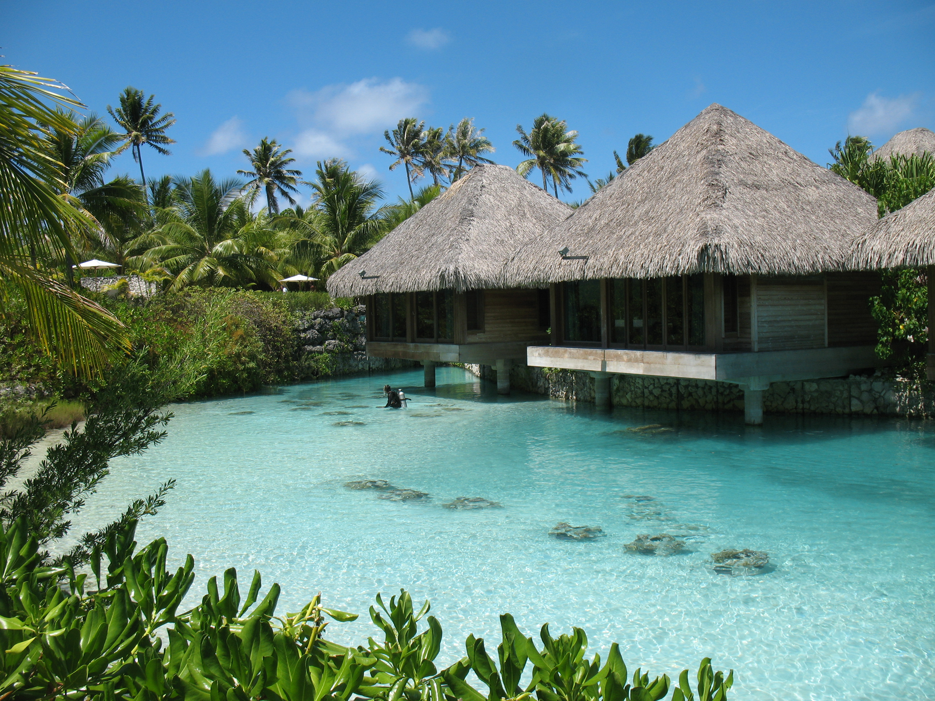 Intercontinental Thalasso Resort And Spa Bora Over Water Bungalows