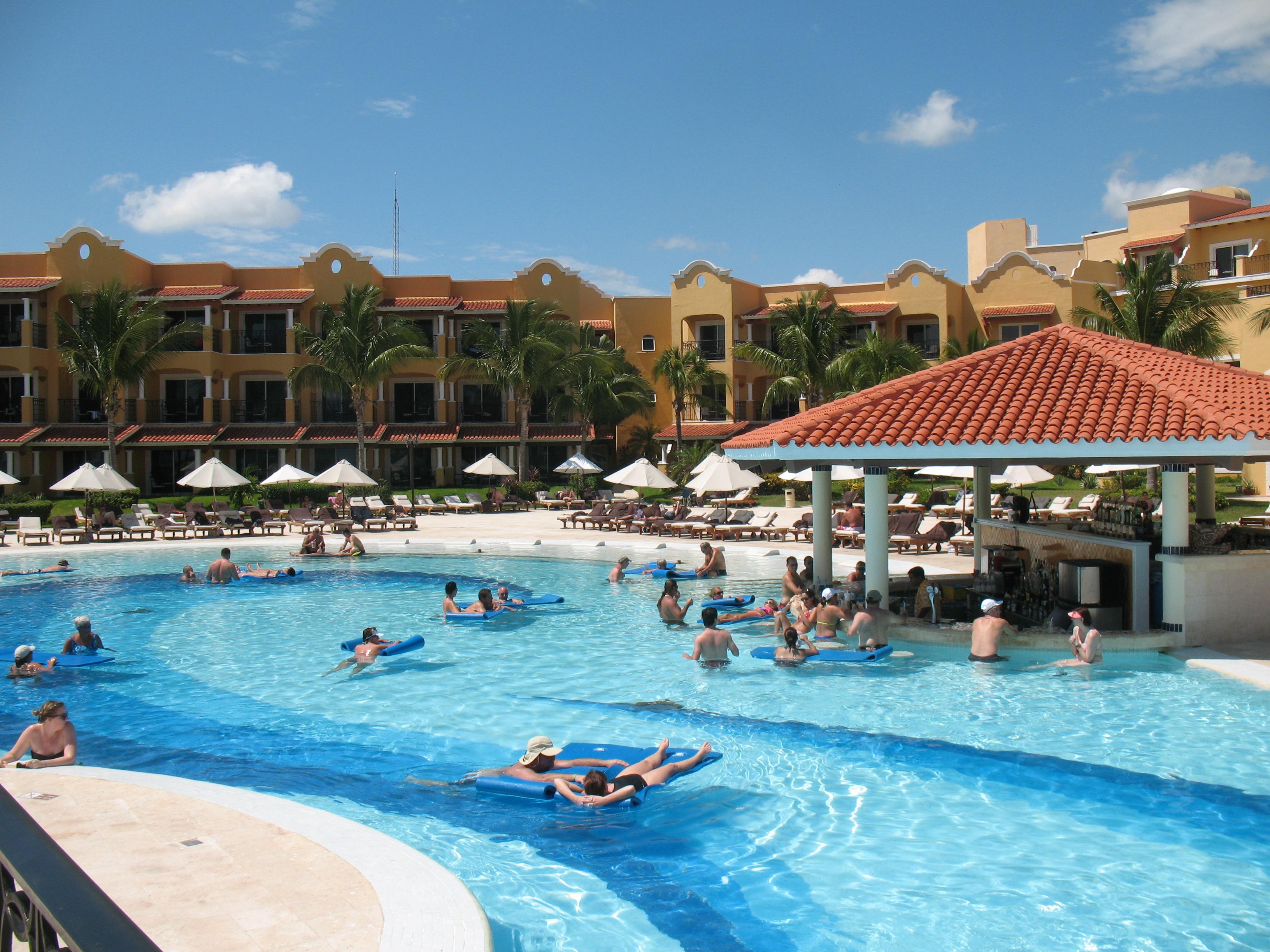 eztravelpad: secrets capri resort along riviera maya in mexico - a