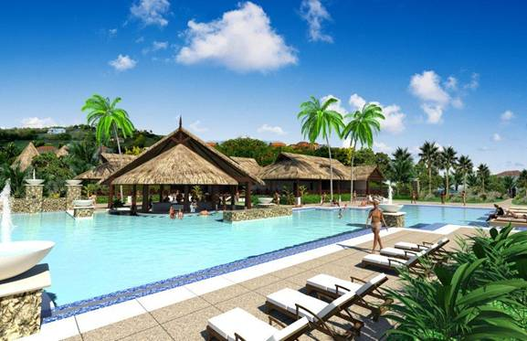Tahiti Village Main pool